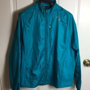 Under Armour | windbreaker jacket teal XL x large